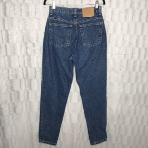 Vintage Levi's 521 High Rise Tapered Leg Mom Jeans